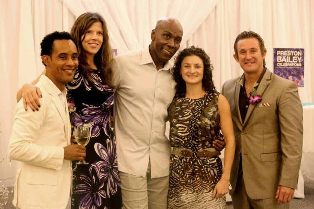 Bride Villa Antigua with special guest Preston Bailey