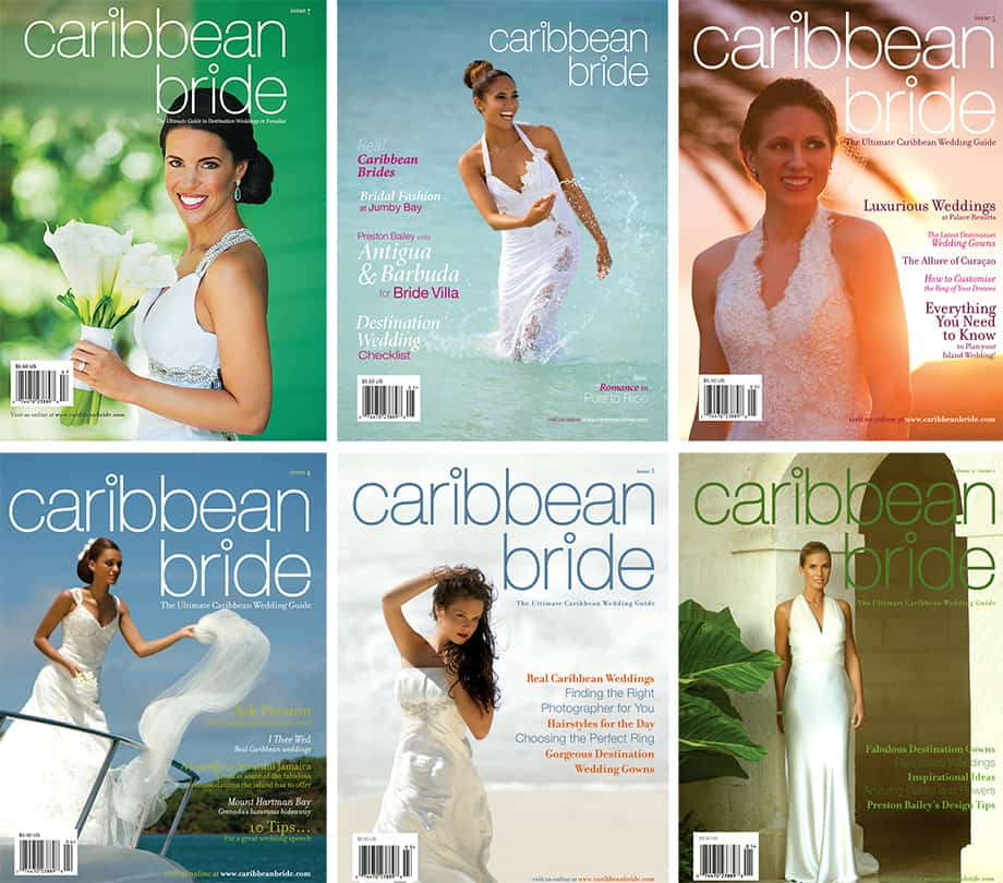 Caribbean Bride Cover Collage