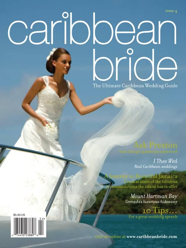 Caribbean Bride Issue 4 COVER