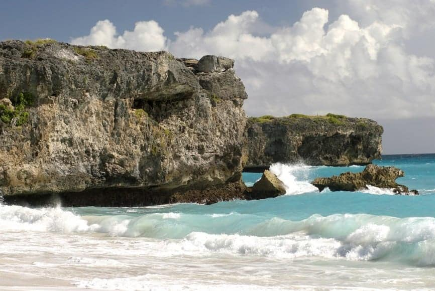 Bottom Bay in Barbados