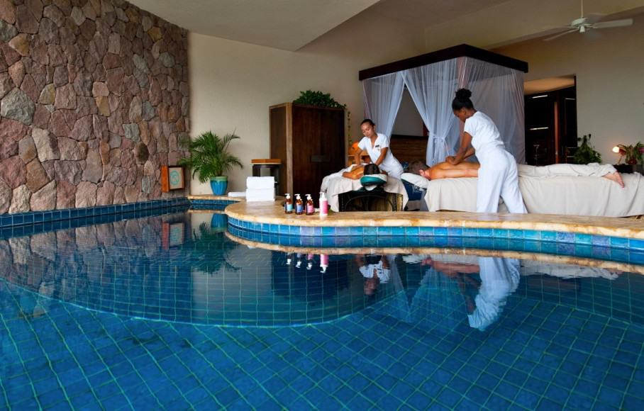 Jade Mountain couples massage
