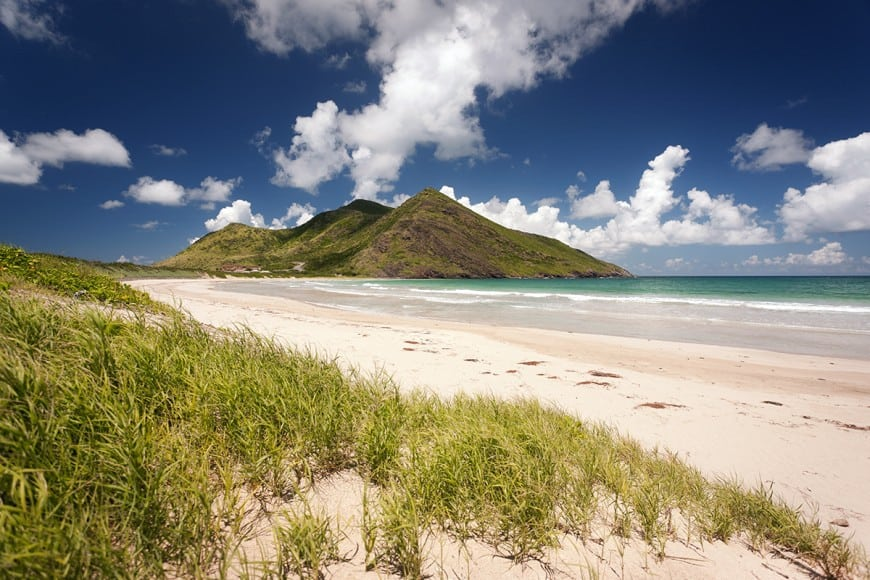 St. Kitts white sand