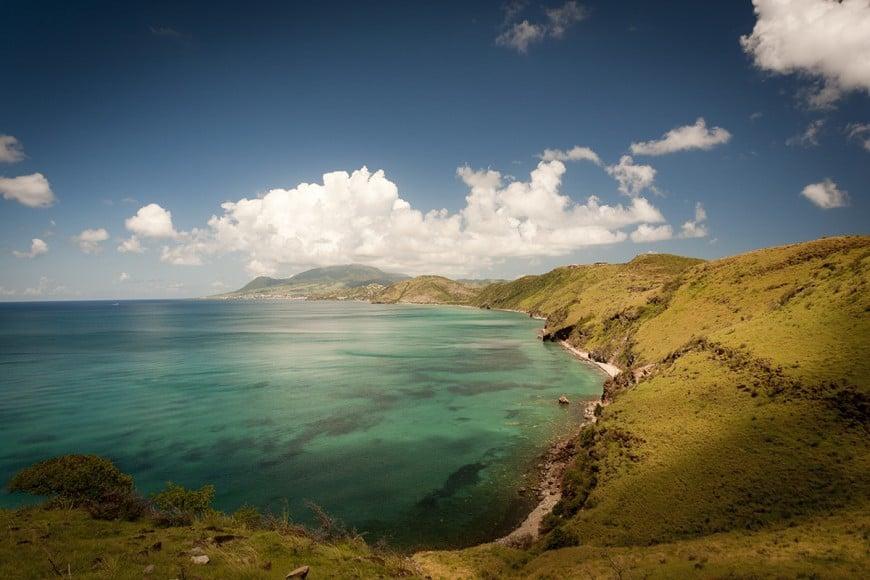 St. Kitts coastline