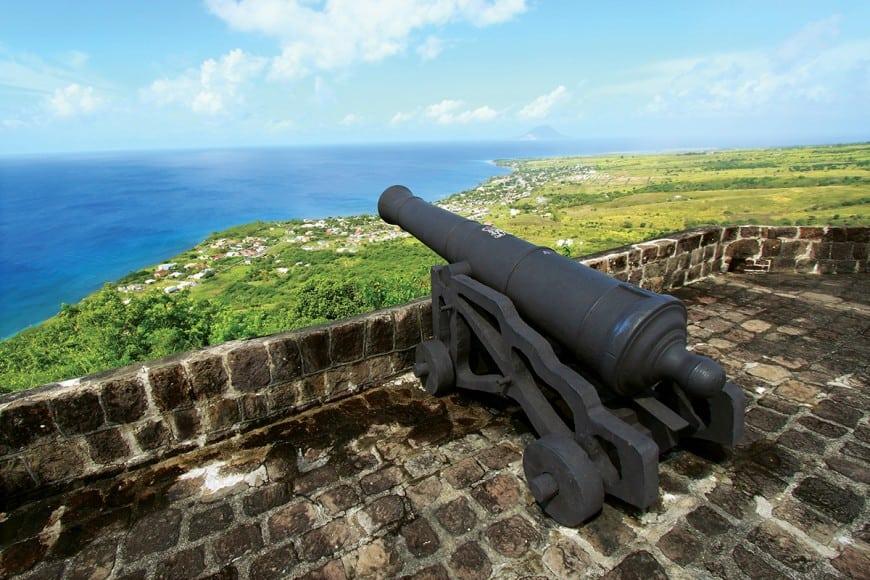 St. Kitts fort
