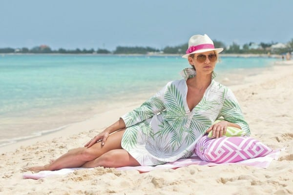 Cayman Islands Collection palm coverup