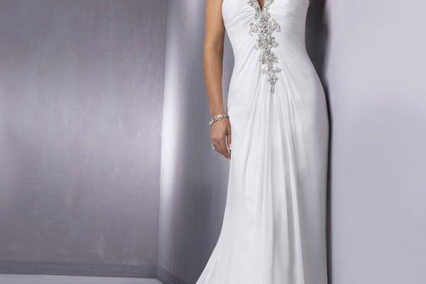 Maggie Sottero destination wedding gown