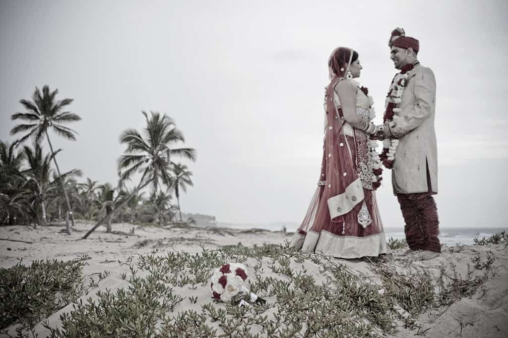 Amita & Sandeep get married in the Dominican Republic