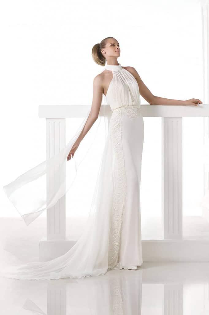 Pronovias beach wedding dress