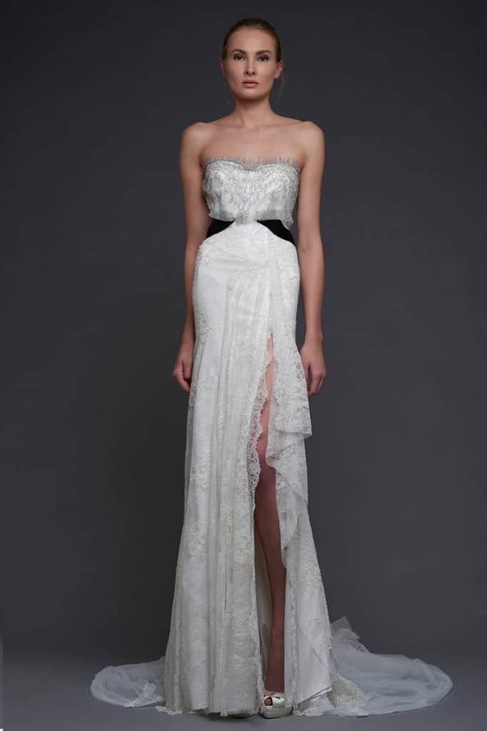 Victoria KyriaKides beach wedding dress