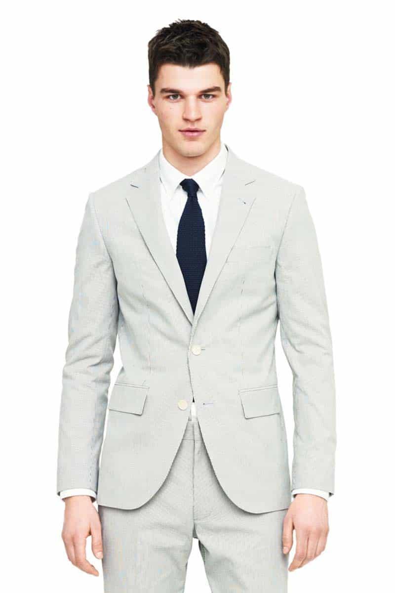 Club Monaco Wedding Suit