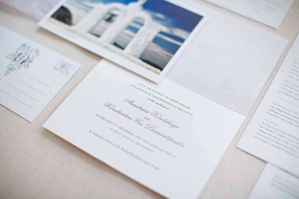 When To Send Out Wedding Invitations For Destination Wedding: Invitations And Stationery For A Destination