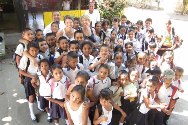 Gregorio Torres Quintero primary school in Mexico Pack for a Purpose