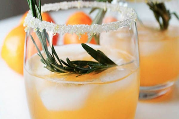 Our wedding cocktail of the week: 'Winter Sun'