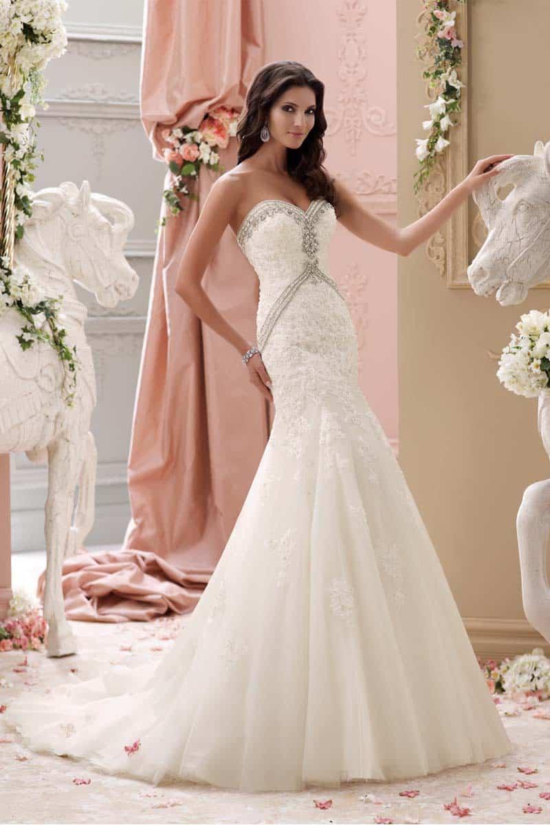 Our Beach Wedding Gown Of The Week David Tuteracaribbean Bride