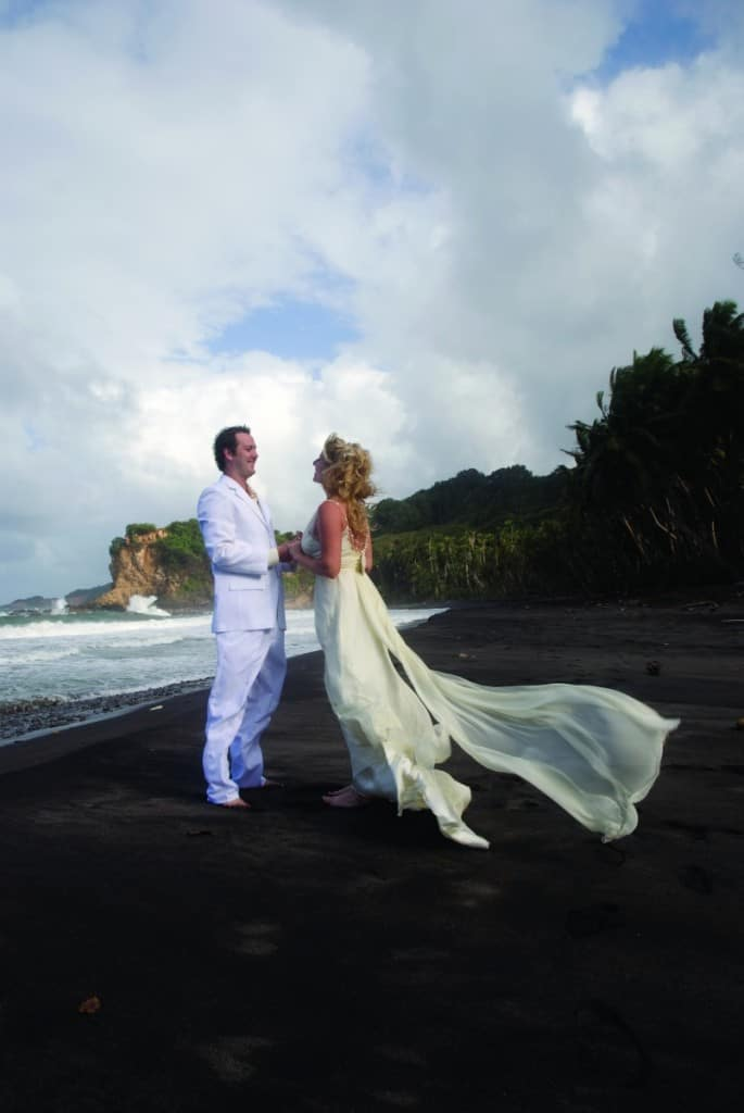 Dominica wedding couple