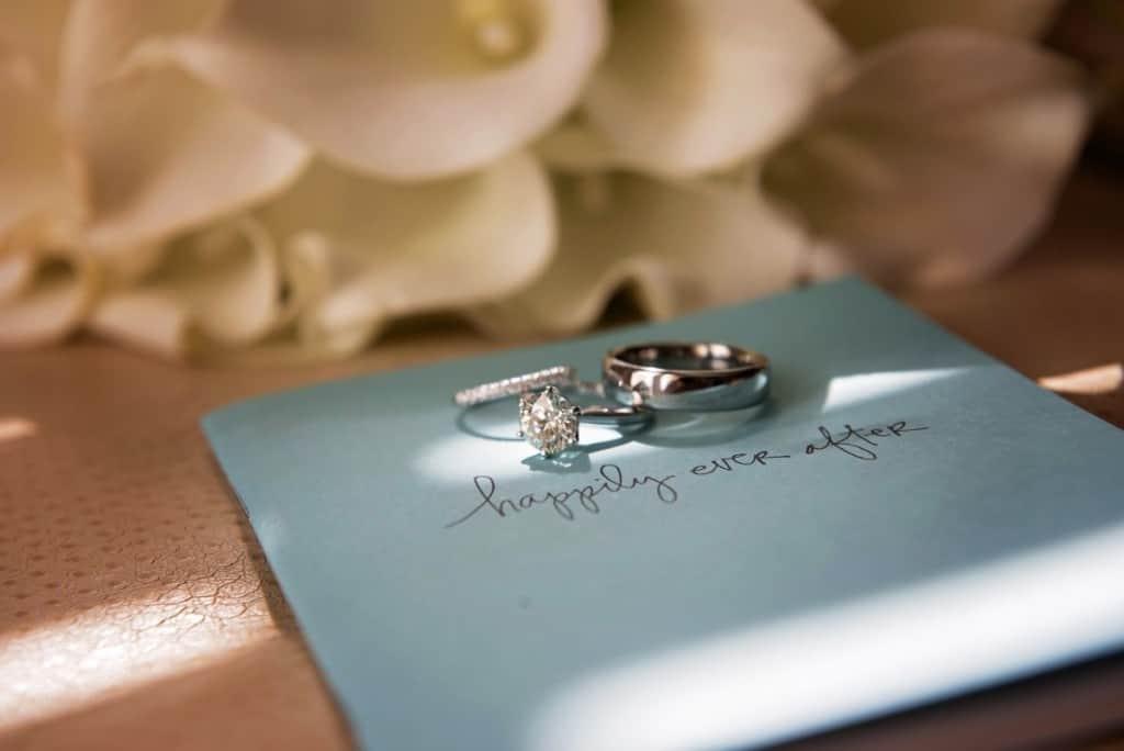 Julia & Matt Wedding Rings 2