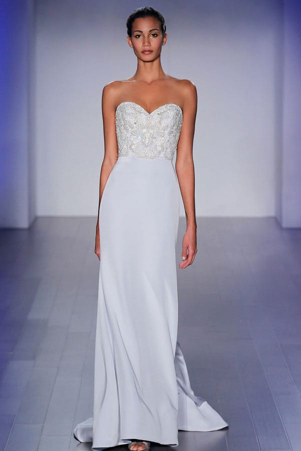 Our Beach Wedding Gown of the Week: Lazaro - Caribbean ...