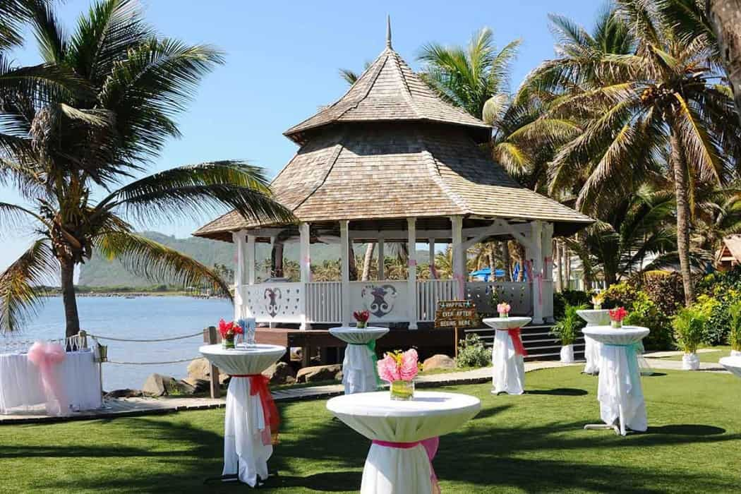 Wedding Gazebo Coconut BAY