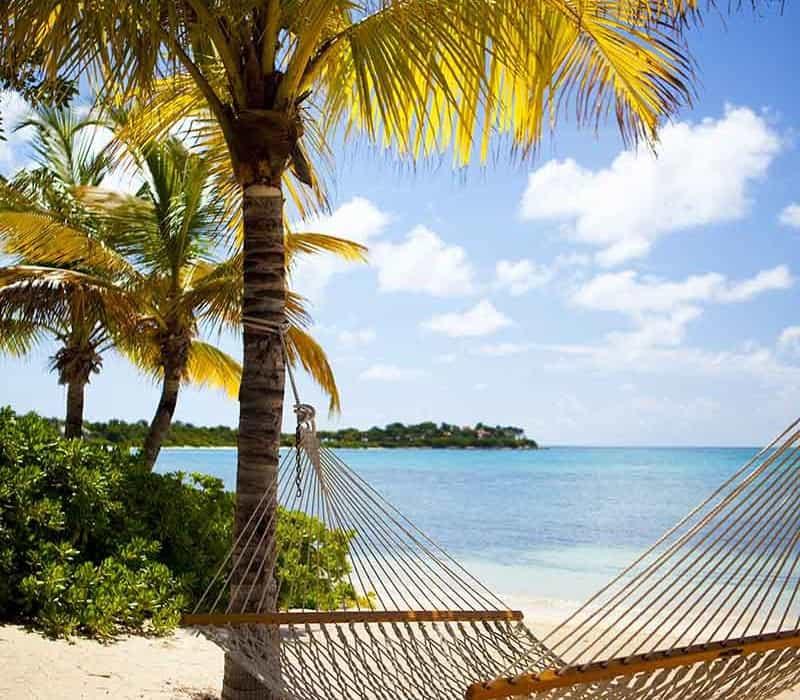 Jumby Bay hammock