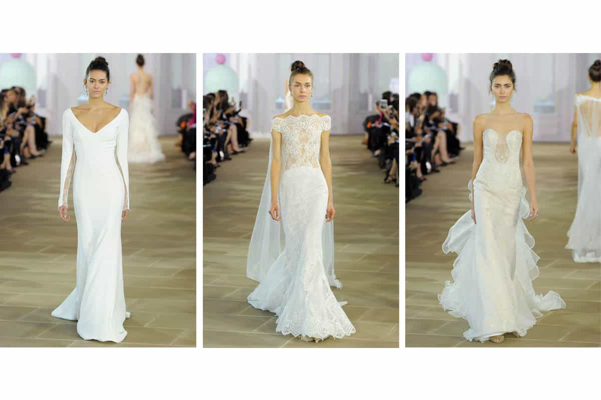 Ines Di Santo wedding gowns