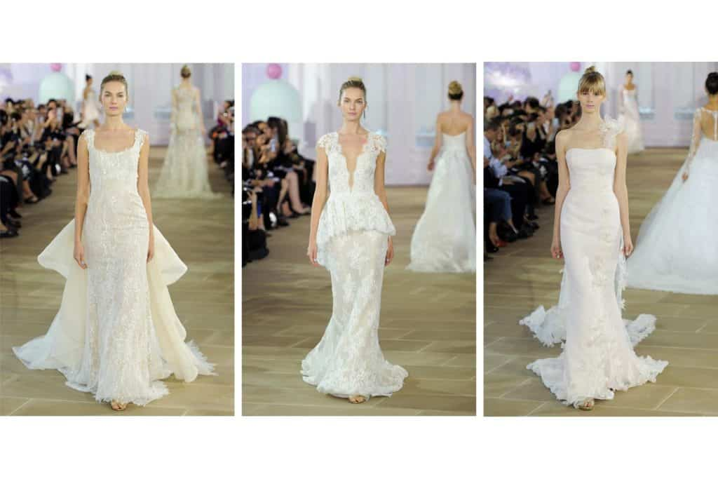 Ines Di Santo wedding gown