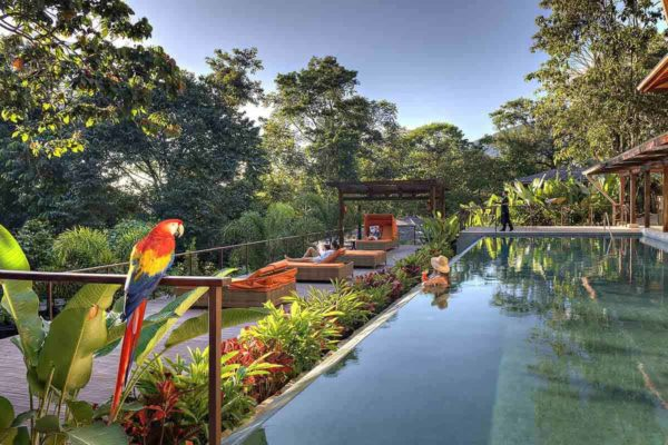 Nayara Springs resort in Costa Rica