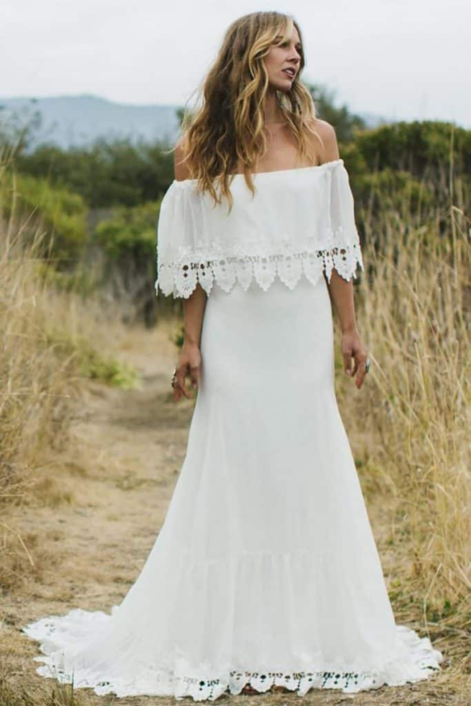 Phiffer by Daughters of Simone Destination Wedding Gown