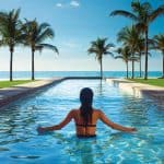 Lap Pool at Lighthouse Pointe-Grand Lucayan