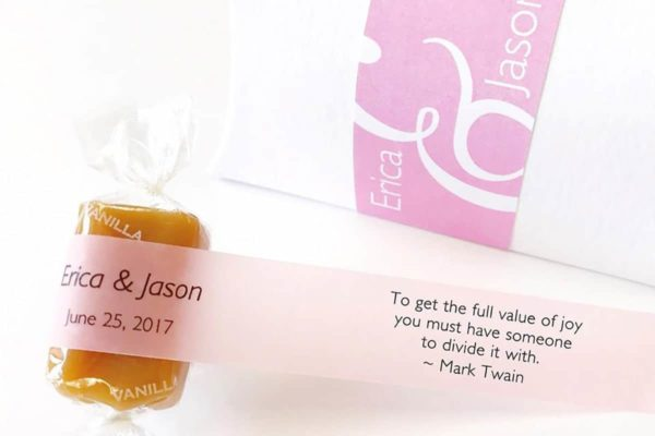 good karmal wedding favors