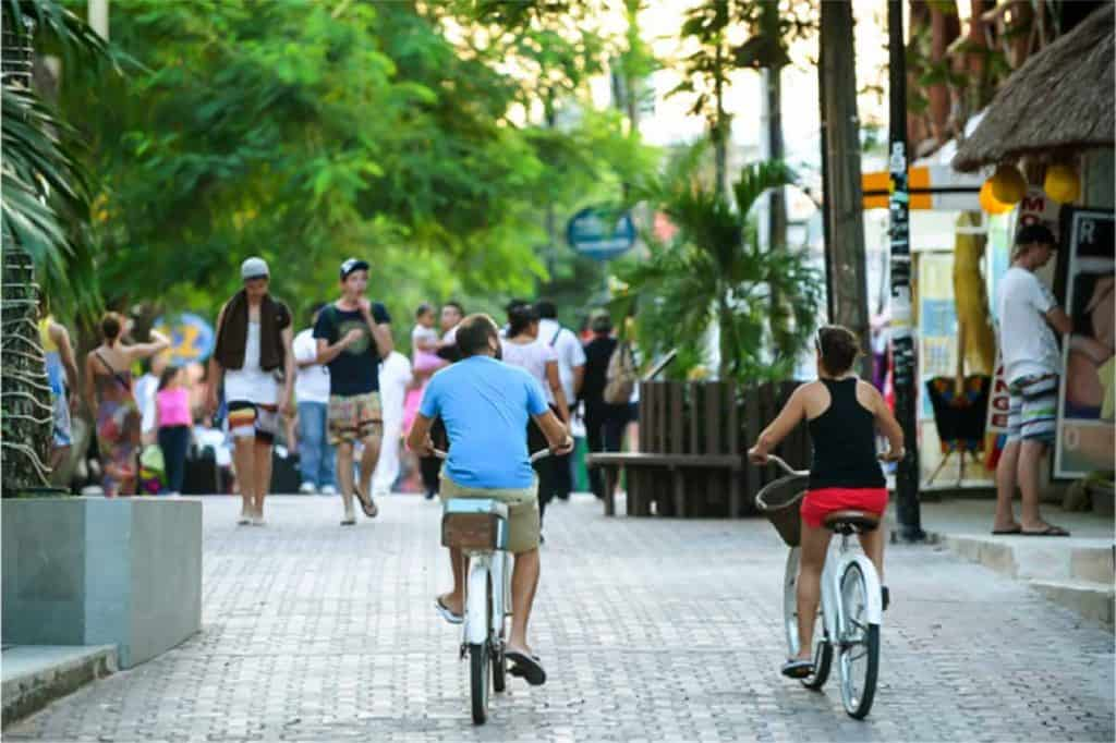 Cycling in Playa Del Carmen