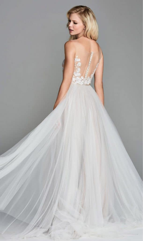 Bridal gown by Watters