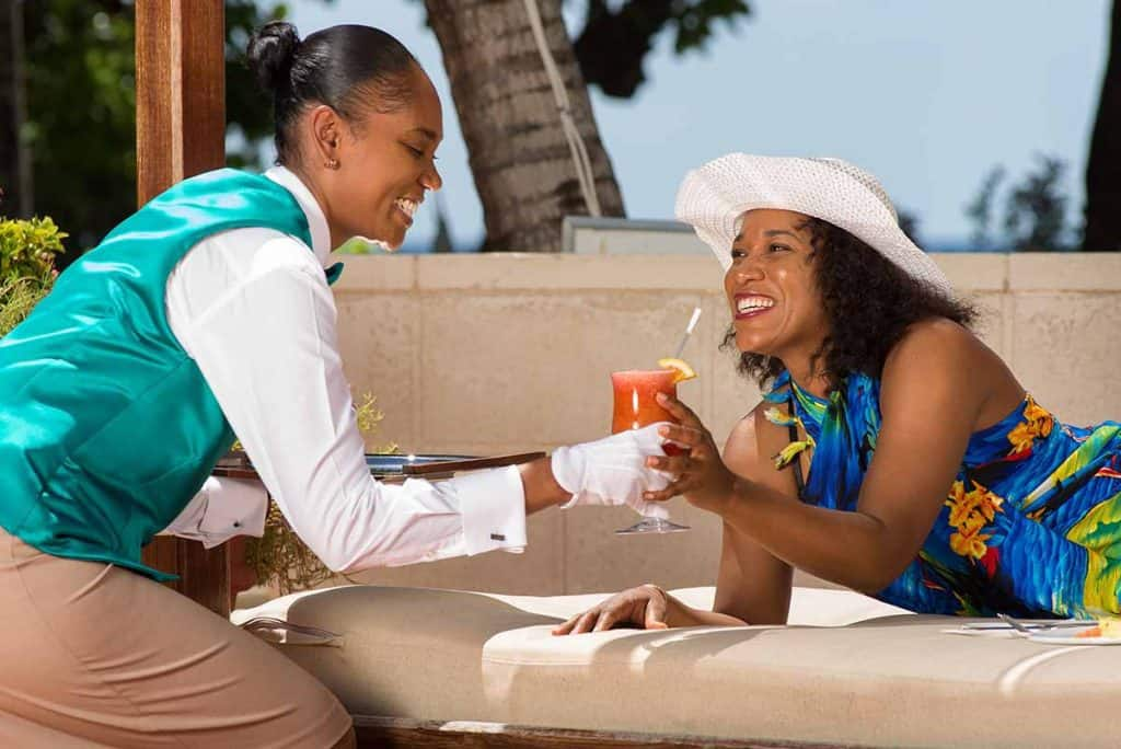 Butler Service at Hilton Barbados