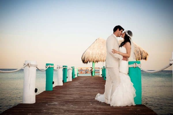 Island wedding at Bahia Principe Hotel in the Caribbean