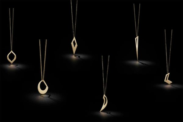 Pendants from The Two of Most jewellery collection