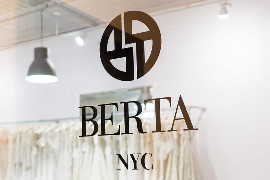 Berta Bridal's flagship store in NYC
