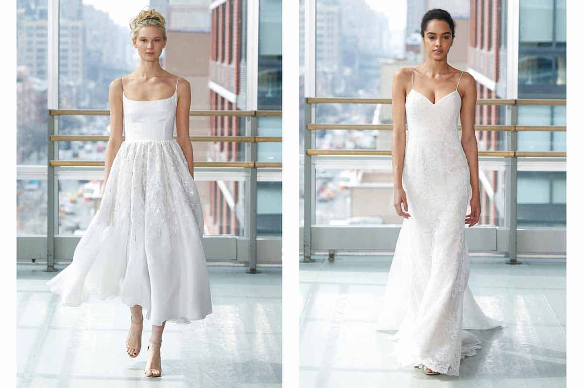 Gracy Accad Spring 2019 bridal collection at New York Bridal Fashion Week