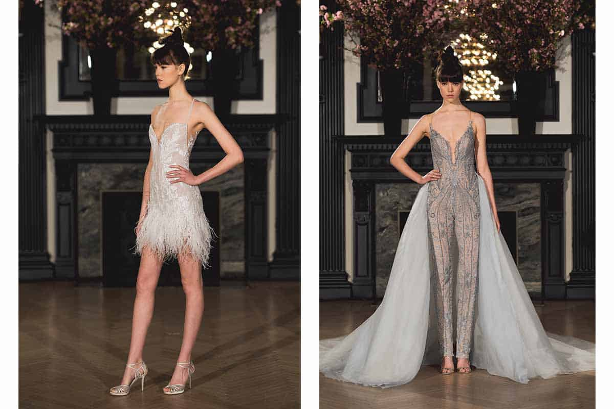 Ines di Santo Spring 2019 wedding dress collection at New York Bridal Fashion Week
