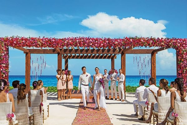 Destination Wedding at Breathless Resort