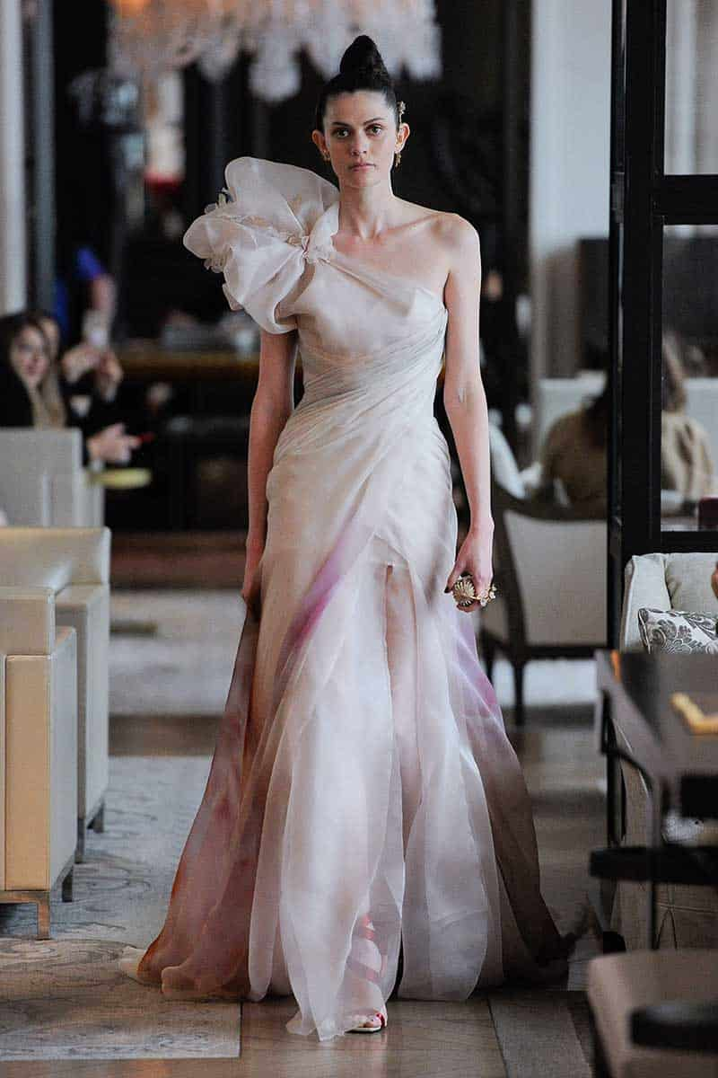 Ines di Santo, Bridal Spring 2020, New York, April 2019