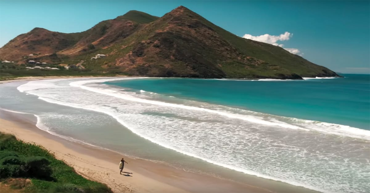 Beach in St. Kitts