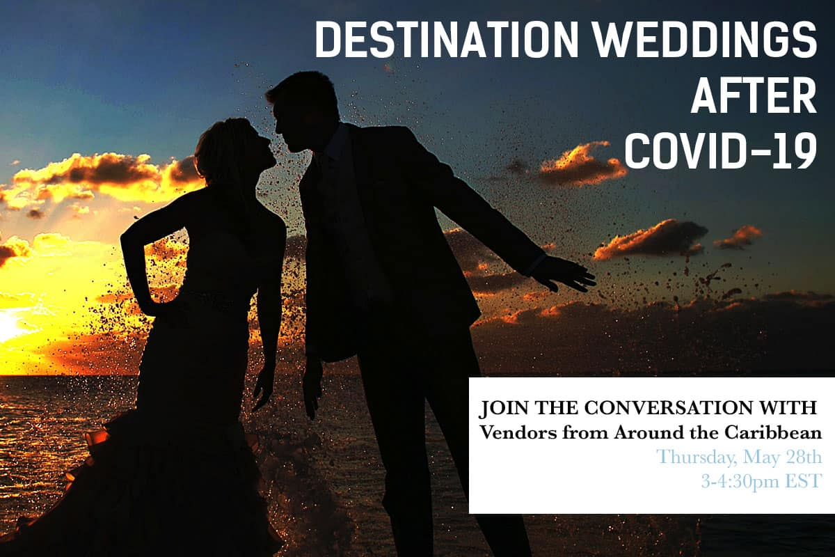 Destination Weddings townhall meeting with Caribbean Bride.