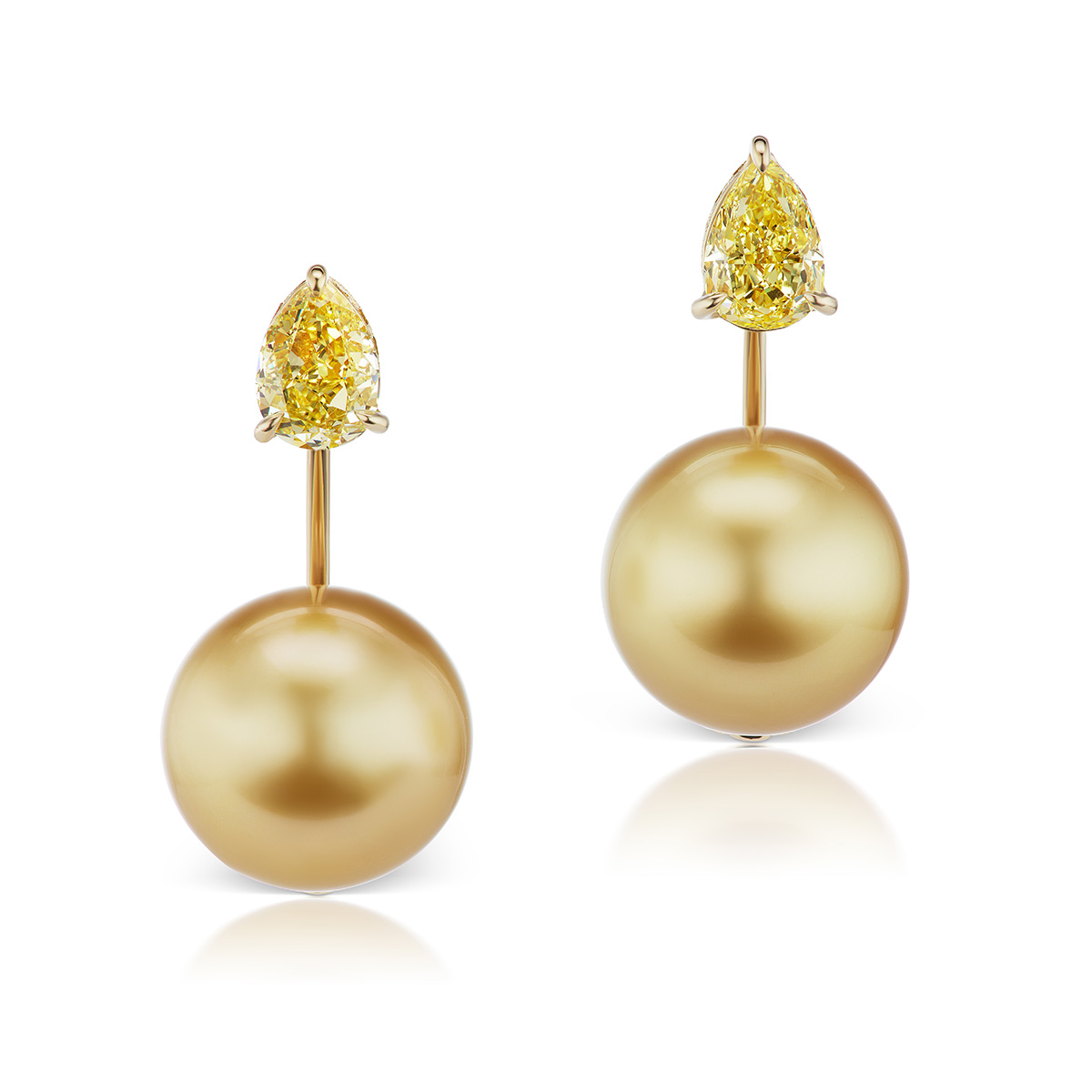 Floating Orb Earrings by Alexia Connellans